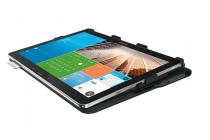 Фирменный ультратонкий водоотталкивающий чехол Logitech PRO Keyboard Case с Bluetooth-клавиатурой для Samsung Galaxy Note Pro 12.2 SM-P900/P901/P905 черный + гарантия