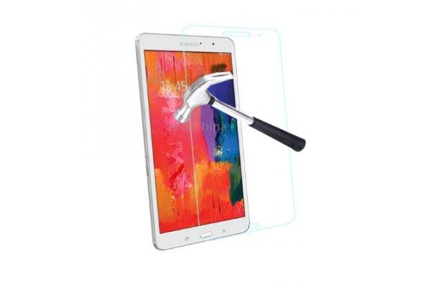 Фирменное защитное закалённое противоударное стекло премиум-класса из качественного японского материала с олеофобным покрытием для Samsung Galaxy Tab Pro 8.4 SM-T320/T321/T325