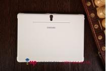 """Чехол с логотипом для Samsung Galaxy Tab S 10.5 с дизайном """"Book Cover"""" белый"""