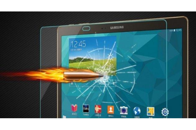 Фирменное защитное закалённое противоударное стекло премиум-класса из качественного японского материала с олеофобным покрытием для Samsung Galaxy Tab S 10.5 SM-t800/t801/t805