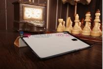 """Фирменный умный тонкий легкий чехол для Samsung Galaxy Tab S 8.4 """"Il Sottile"""" песочный пластиковый"""