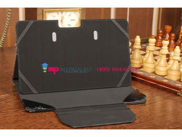 Чехол для Samsung ATIV Smart PC Pro XE700T1C черный с секцией под клавиатуру кожаный..