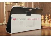 Фирменный оригинальный чехол для Samsung ATIV Smart PC XE500T1C черный натуральная кожа