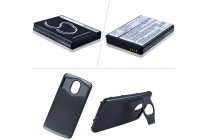 Усиленная батарея-аккумулятор большой ёмкости 3500mAh для телефона Samsung Galaxy Nexus GT-I9250 + задняя крышка в комплекте черная + гарантия