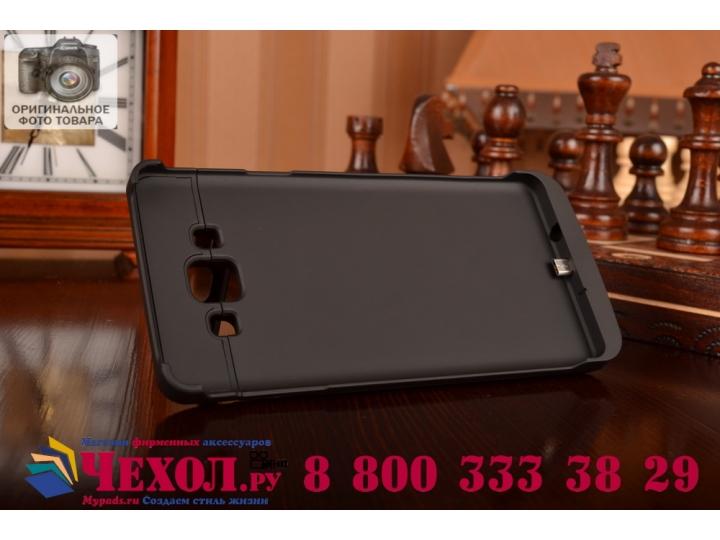 Чехол-бампер со встроенным усиленным аккумулятором большой повышенной расширенной ёмкости 4200mAh для Samsung ..
