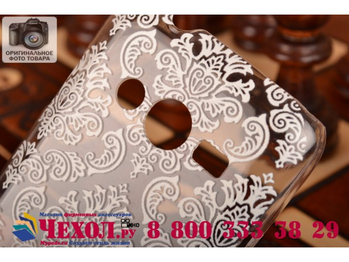 Фирменная роскошная задняя панель-чехол-накладка с расписным узором для Samsung GALAXY Ace 4 Duos SM-G313HU/DS..
