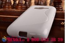 Фирменная ультра-тонкая полимерная из мягкого качественного силикона задняя панель-чехол-накладка для Samsung GALAXY Ace 4 Duos SM-G313HU/DS  белая