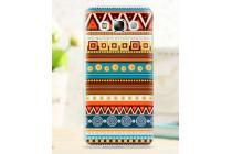 Фирменная роскошная задняя панель-чехол-накладка с безумно красивым расписным эклектичным узором на Samsung Galaxy E7