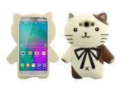 Фирменная задняя панель-чехол-накладка с объёмным 3D изображением для Samsung Galaxy E7