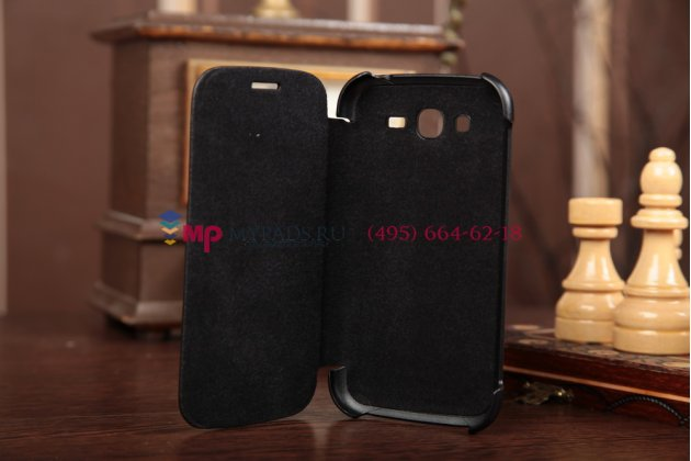 Чехол Flip-cover для Samsung Galaxy Grand Duos i9080/i9082 черный