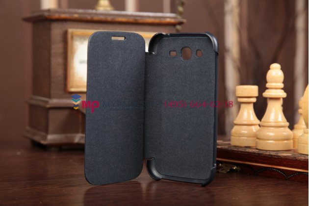 Чехол Flip-cover для Samsung Galaxy Grand Duos i9080/i9082 синий