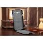 Чехол-флип для Samsung Galaxy Grand GT-i9082 черный кожаный..