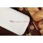 Чехол откидной вертикальный для Samsung Galaxy Grand Duos i9080/i9082 белый кожаный
