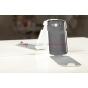 Чехол откидной вертикальный для Samsung Galaxy Grand Duos i9080/i9082 белый кожаный..