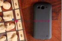 Чехол со встроенной усиленной мощной батарей-аккумулятором большой повышенной расширенной ёмкости 3300mAh для Samsung Galaxy Grand GT-i9080/i9082 черный + гарантия