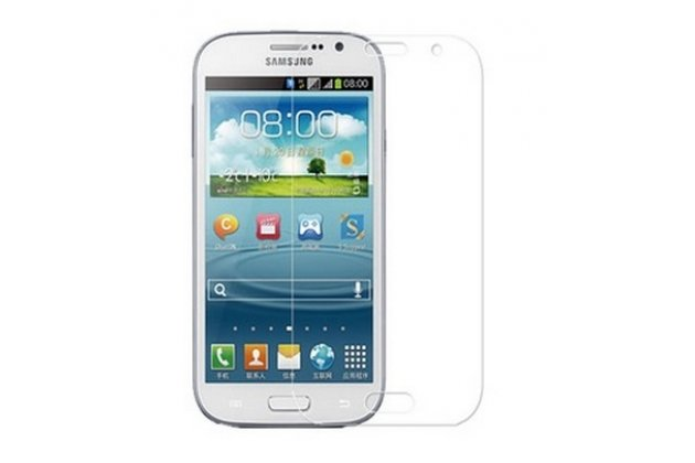 Фирменная оригинальная защитная пленка для телефона Samsung Galaxy Grand Duos i9080/i9082 глянцевая
