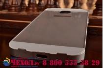 Фирменная металлическая задняя панель-крышка-накладка из тончайшего облегченного авиационного алюминия для Samsung Galaxy Mega 5.8 GT-i9150/i9152 silver