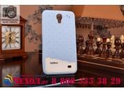 Фирменная необычная уникальная полимерная мягкая задняя панель-чехол-накладка для Samsung Galaxy Mega 5.8 GT-i..