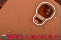 """Фирменная необычная уникальная полимерная мягкая задняя панель-чехол-накладка для Samsung Galaxy Mega 5.8 GT-i9150/i9152   """"тематика Андроид в тёмном Шоколаде"""""""