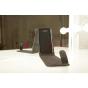 Вертикальный откидной чехол-флип для Samsung Galaxy Mega 5.8 GT-i9150/i9152 черный кожаный..