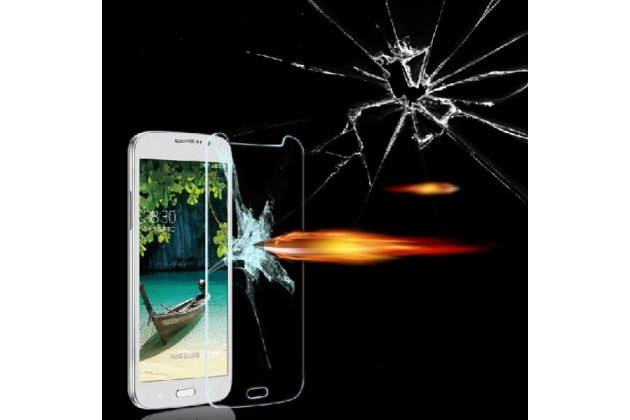 Фирменное защитное закалённое противоударное стекло премиум-класса из качественного японского материала с олеофобным покрытием для Samsung Galaxy Mega 5.8 GT-i9150/i9152