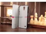 Чехол-футляр из качественной импортной кожи для Samsung Galaxy Mega 6.3 черный..