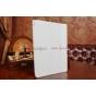 """Чехол с логотипом для Samsung Galaxy Note 10.1 2014 edition SM-P6000/P6010/P6050 с дизайном """"Book Cover"""" белый"""