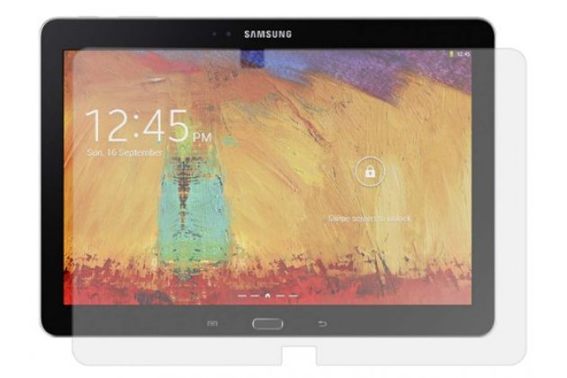 Фирменная защитная пленка для Samsung Galaxy Note 10.1 2014 edition SM-P600/P601/P605 матовая