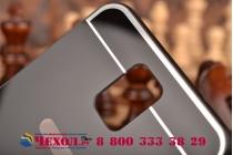 Фирменная металлическая задняя панель-крышка-накладка из тончайшего облегченного авиационного алюминия для Samsung Galaxy Note 3 черная