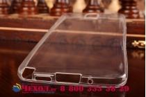Фирменная ультра-тонкая полимерная из мягкого качественного силикона задняя панель-чехол-накладка для Samsung Galaxy Note 3 белая