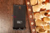 Чехол со встроенной усиленной мощной батарей-аккумулятором большой повышенной расширенной ёмкости 4800mAh для Samsung Galaxy Note 3 SM-N900/N9005 черный + гарантия