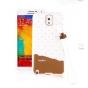 Фирменная необычная уникальная полимерная мягкая задняя панель-чехол-накладка для Samsung Galaxy Note 3
