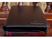Фирменный чехол-книжка из качественной импортной кожи с мульти-подставкой для Samsung Galaxy Note 3 SM-N900 че..