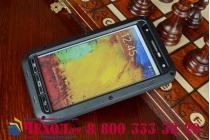 Неубиваемый водостойкий противоударный водонепроницаемый грязестойкий влагозащитный ударопрочный фирменный чехол-бампер для Samsung Galaxy Note 3 SM-N900/N9005 цельно-металлический со стеклом Gorilla Glass