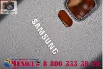Родная оригинальная задняя крышка-панель которая шла в комплекте для Samsung Galaxy Note 4 черная