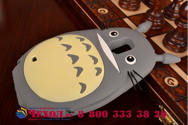 "Фирменная необычная мягкая задняя панель-чехол-накладка для Samsung Galaxy Note 4  ""тематика толстая весёлая мышь"""
