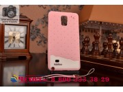 Фирменная необычная уникальная полимерная мягкая задняя панель-чехол-накладка для Samsung Galaxy Note 4