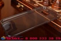 Фирменная ультра-тонкая полимерная из мягкого качественного силикона задняя панель-чехол-накладка для Samsung Galaxy Note 5 черная