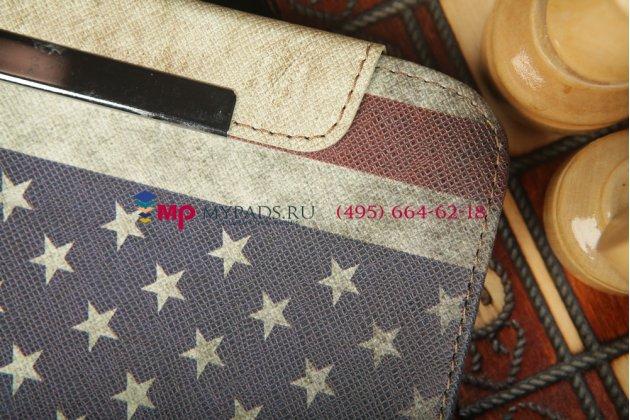 "Чехол-обложка для Samsung Galaxy Note 8.0 N5100/N5110 ""тематика американский флаг"""