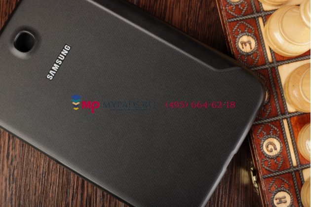 "Чехол с логотипом для Samsung Galaxy Note 8.0 N5100/N5110 с дизайном ""Book Cover"" черный"