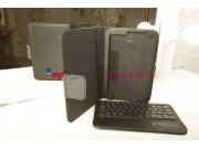 Фирменный чехол со съёмной Bluetooth-клавиатурой для Samsung Galaxy Note 8.0 N5100/N5110/N5120 черный кожаный ..