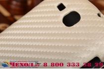 Фирменный вертикальный откидной чехол-флип для Samsung Galaxy Premier GT-i9260 белый кожаный