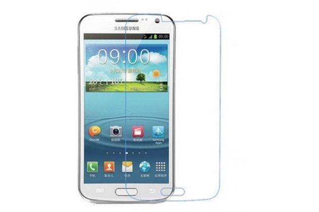 Фирменная оригинальная защитная пленка для телефона Samsung Galaxy Premier GT-i9260 глянцевая