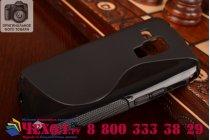 Фирменная ультра-тонкая полимерная из мягкого качественного силикона задняя панель-чехол-накладка для Samsung Galaxy S Duos GT-S7562 черная