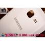 Родная оригинальная задняя крышка-панель которая шла в комплекте для Samsung Galaxy S Duos GT-S7562 белая..