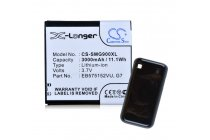 Усиленная батарея-аккумулятор большой ёмкости 3000mAh для телефона Samsung Galaxy S1 / S1 Plus GT-i9000/i9001/i9008  + задняя крышка в комплекте черная + гарантия