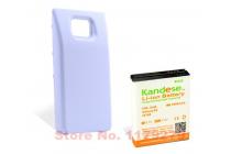 Усиленная батарея-аккумулятор большой ёмкости 5500mah для телефона Samsung Galaxy S2 / S2 Plus GT-i9100/i9105 + задняя крышка белая+ гарантия