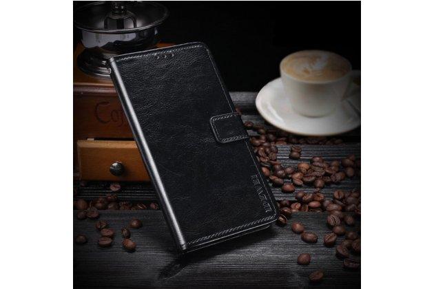 Чехол для Samsung Galaxy S3 GT-i9300 черынй кожаный