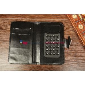 Чехол для Samsung Galaxy S3 GT-i9300 красный кожаный