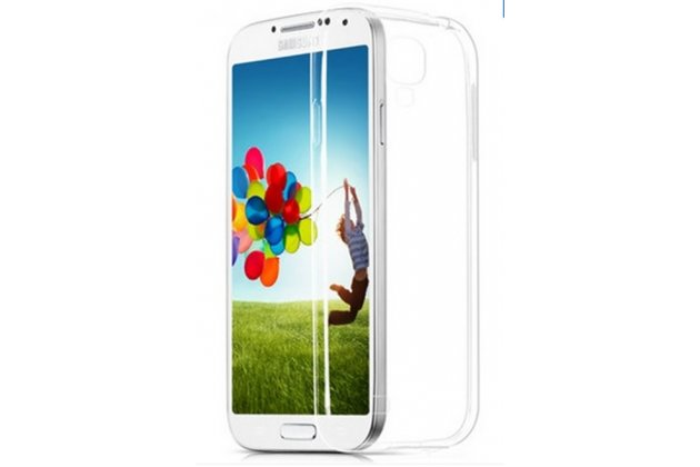 Фирменная ультра-тонкая пластиковая задняя панель-чехол-накладка для Samsung Galaxy S4 GT-i9500/i9505 прозрачная